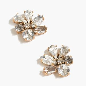 J.CREW Cluster Stone Earrings